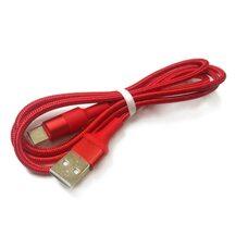 USB Дата-кабель TYPE-C для зарядки и синхронизации Android HOCO X26 (красный)