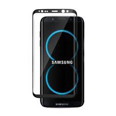 Защитное стекло для SAMSUNG S8+ Full Glue  (черный)