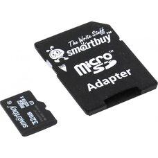 Карта памяти Smartbuy 32GB microSDHC 10 class (с адаптером)