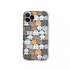 Чехол-накладка (бампер)  для Apple iPhone 11 Pro. Luxo. Animals. Медвежата. №04