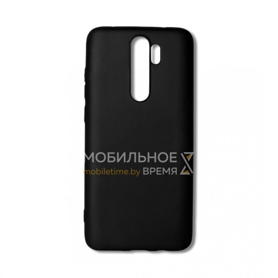 Силиконовый чехол для Xiaomi Redmi Note 8 Pro. (Чёрный)