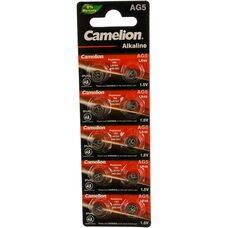 Батарейка для часов Camelion  AG5 BL-10 393A / LR754 / 193 Mercury Free