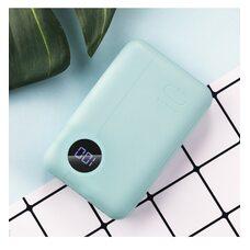 Портативное зарядное устройство ROCK P75 MINI PD 10000 mah blue