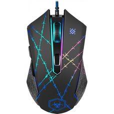 Мышь DEFENDER  игровая Forced GM-020L оптика,6 кнопок,800-3200dpi
