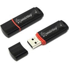 USB флеш-накопитель Smartbuy 4GB Crown Series (черный)