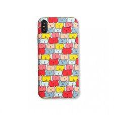 Детский чехол-накладка для Apple iPhone Xs Max. Luxo. Animals. Цветные медвежата. №06