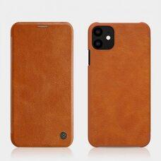 Чехол-книга для Apple iPhone 11 Nillkin Qin leather filp (brown)