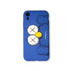 Чехол-накладка для Apple iPhone XR. Luxo. Brand. Kaws. X (синий). KS-26