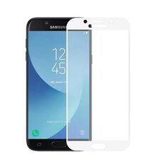 Защитное стекло для Samsung Galaxy J3 (2017)/J3 Pro (2017). (Белый)