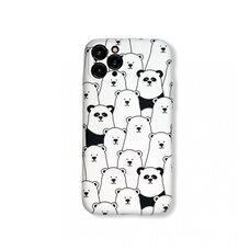 Чехол-накладка (бампер) для Apple iPhone 11 Pro. Luxo. Animals. Пандочки. №09
