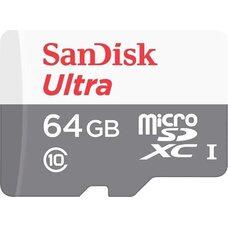 Карта памяти SANDISK 64GB microSDXC I Class 10 80Mb/s 533x (с адаптером SD)
