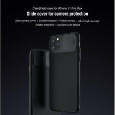 Противоударный чехол-накладка для Apple iPhone 11 PRO MAX  Nillkin CamShield Case (Black)