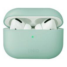 Чехол для Airpods Pro Uniq LINO Liquid silicone Mint green