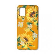 Чехол для Samsung Galaxy A31. Luxo. Flowers. Подсолнухи. J6