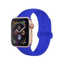 Ремешок для Apple Watch 38/40mm SPORT (упак. картон) №38 ледяной океан-синий