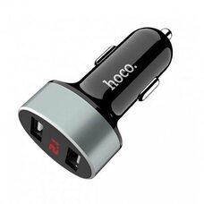 Автомобильное зарядное устройство HOCO Z26 (черный)