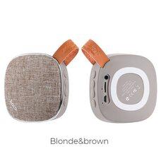 Беспроводная колонка HOCO BS8 (blonde&brown)