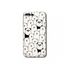 Чехол-накладка для Apple iPhone 7 Plus/8 Plus Luxo. Animals. Пандочки. №09