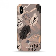 Чехол-накладка для iPhone X/XS Pump Tender Touch Case Leaf Fall
