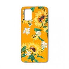 Чехол для Samsung Galaxy A71 Luxo. Flowers. Подсолнухи. J6