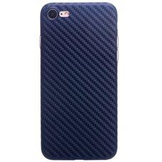 Чехол для iPhone 7 / 8 HOCO ULTRA THIN series Carbon fiber (синий)
