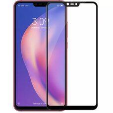 Защитное стекло для Xiaomi Mi 8 Lite (Чёрный)