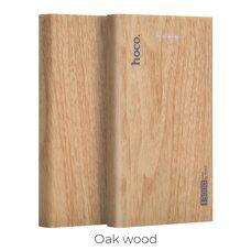 Портативное зарядное устройство HOCO 13000 mAh B36 (oak wood)