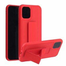 Чехол-подставка для iPhone XR с магнитом красный
