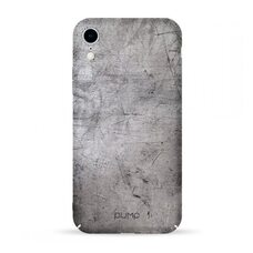 Чехол-накладка для iPhone XR Pump Tender Touch Case Stone Texture
