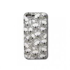 Чехол-накладка для Apple iPhone 7 Plus/8 Plus. Luxo. Animals. Белый французский бульдог. J29