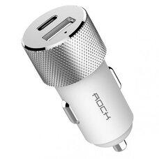 Автомобильное зарядное устройство ROCK SITOR PD Fast charger RCC0131 (белый)