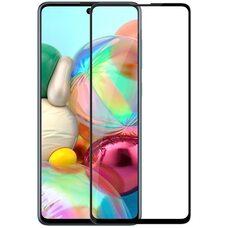 Защитное стекло для Samsung Galaxy  A71/A81/S10 Lite/Note 10 Lite. (Чёрный)