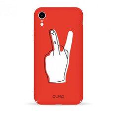 Чехол-накладка для iPhone XR Pump Tender Touch Case V для Middle Finger