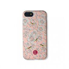 Чехол для Apple iPhone 7/8/SE2. Luxo. Flowers. На розовом фоне
