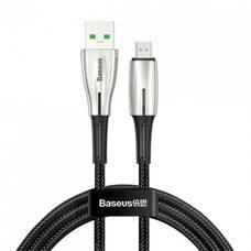 Кабель MICRO USB BASEUS WATERDROP CAMRD-B01 (черный)