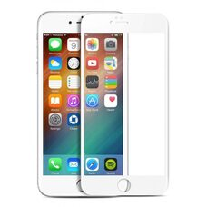 Защитное стекло для Apple iPhone 6+ (Белый)