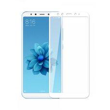 Защитное стекло для Xiaomi Redmi 6X/ Mi A2 (Белый)