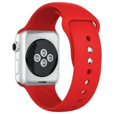 Ремешок для Apple Watch 38/40mm SPORT (упак. картон) №14 красный