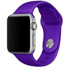Ремешок для Apple Watch 38/40mm SPORT (упак. картон) №45 фиолетовый
