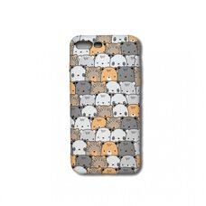 Детский противоударное чехол-накладка для Apple Айфон 7 Plus/8 Plus. Luxo. Animals. Медвежата игрушки  №04