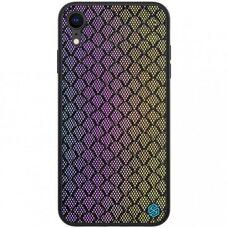 Чехол-накладка для Apple iPhone XR Nillkin Twinkle Case (Rainbow) фиолетовый