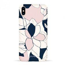 Силиконовый чехол-накладка для iPhone XS Max Pump Tender Touch Case Art Flowers из полиуретана MATE
