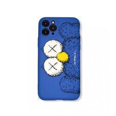 Чехол-накладка для Apple iPhone 11 Pro. Luxo. Brand. Kaws. X (Голубой). KS-26