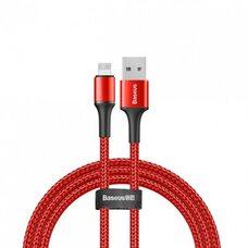 USB Дата-кабель Lighting для зарядки и синхронизации iPhone/iPad BASEUS YIVEN1.2M CALYW-09 (красный)