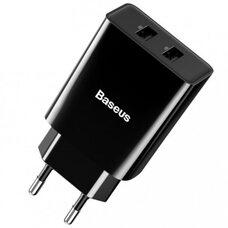 Сетевое зарядное устройство BASEUS (CCFS-R01) (черный)
