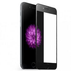 Защитное стекло для Apple iPhone 6+ (Чёрный)