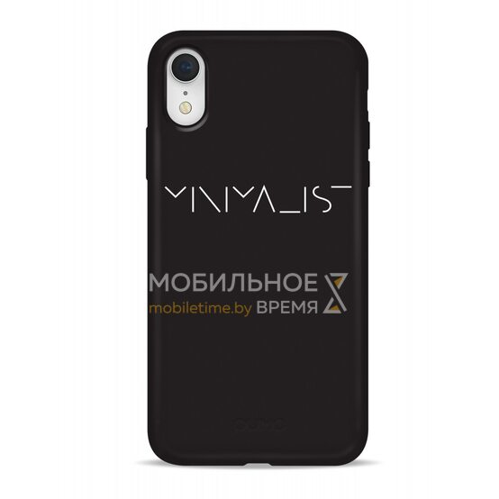Чехол-накладка для iPhone XR Pump Silicone Minimalistic Case Minimalist