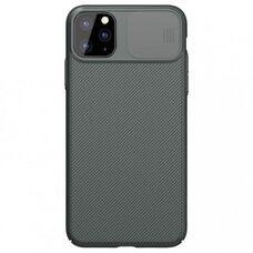 Противоударный чехол-накладка для Apple iPhone 11 PRO MAX  Nillkin CamShield Case (Dark green) NEW