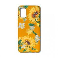 Чехол для Samsung Galaxy A41. Luxo. Flowers. Подсолнухи. J6