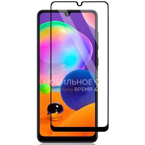 Защитное стекло для Samsung A31 (Чёрный)